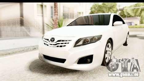 Toyota Camry GL 2011 für GTA San Andreas