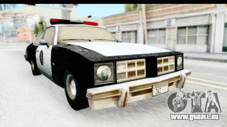 Pontiac Ventura LSPD from Silent Hill 2 für GTA San Andreas