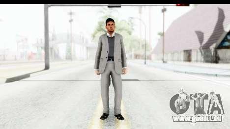 Messi Formal für GTA San Andreas zweiten Screenshot