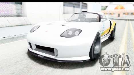 GTA 5 Bravado Banshee 900R Carbon Mip Map pour GTA San Andreas vue intérieure