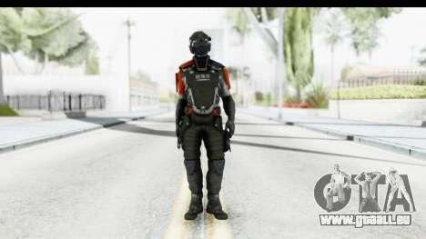 Homefront The Revolution - KPA v5 Captain für GTA San Andreas zweiten Screenshot