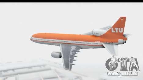 Lockheed L-1011-100 TriStar LTU pour GTA San Andreas laissé vue