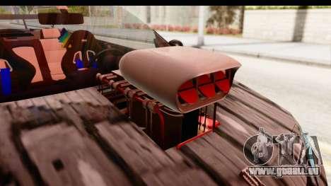 Renault Megane Spyder Full Tuning v2 für GTA San Andreas Innenansicht