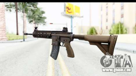 Heckler & Koch HK416 pour GTA San Andreas deuxième écran