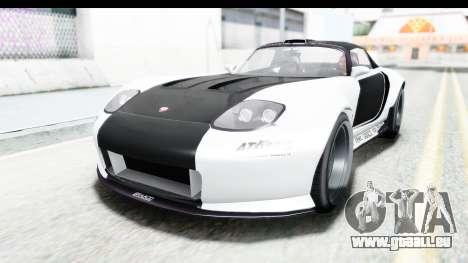 GTA 5 Bravado Banshee 900R Carbon Mip Map für GTA San Andreas obere Ansicht