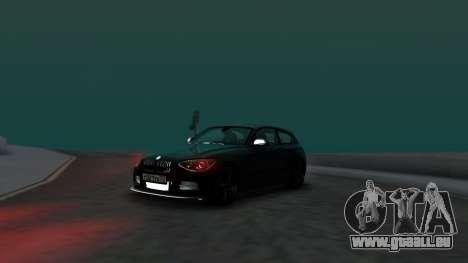 BMW M135i ISlaite Edition pour GTA San Andreas vue de droite