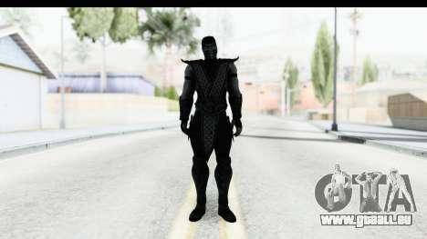 Mortal Kombat vs DC Universe - Noob Saibot für GTA San Andreas zweiten Screenshot