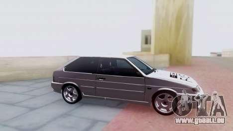 VAZ 2113 LoudSound für GTA San Andreas Rückansicht
