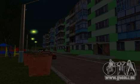 Der neue Bezirk in der Nähe von Arzamas für GTA San Andreas zehnten Screenshot