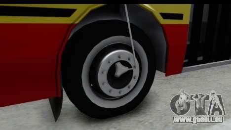 Metalpar Tronador 2 Puertas Linea 324 für GTA San Andreas Rückansicht