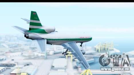 Lockheed L-1011-100 TriStar Cathay Pacific Air für GTA San Andreas rechten Ansicht