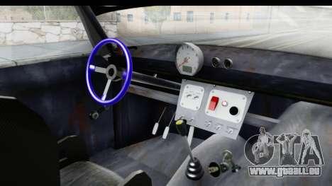 IZH Combi v2 pour GTA San Andreas vue intérieure