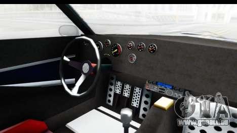 GTA 5 Lampadati Tropos Rallye No Headlights IVF pour GTA San Andreas vue intérieure
