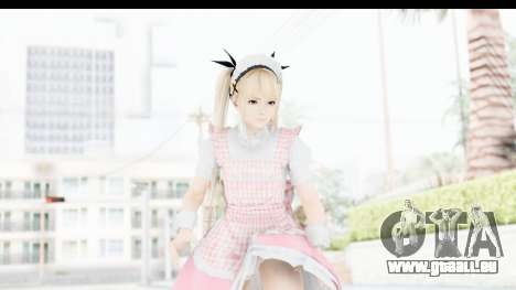 DoA 5: LR - Marie Rose Maid Remade für GTA San Andreas