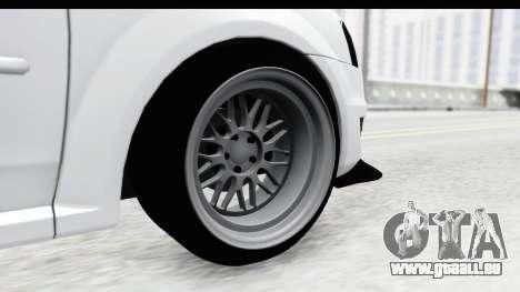 Dacia Logan Coil für GTA San Andreas Rückansicht