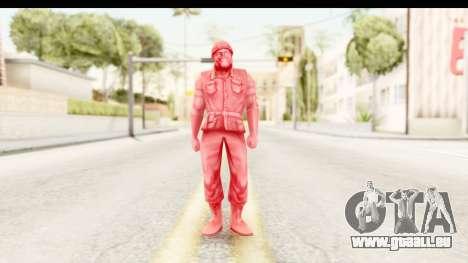 ArmyMen: Serge Heroes 2 - Man v3 für GTA San Andreas zweiten Screenshot