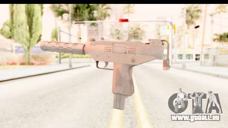 RE2 - Machine Gun für GTA San Andreas dritten Screenshot