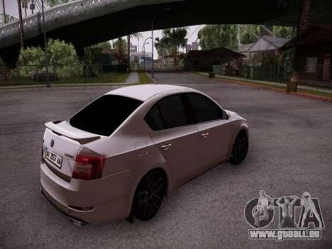 Skoda Octavia A7 R für GTA San Andreas rechten Ansicht