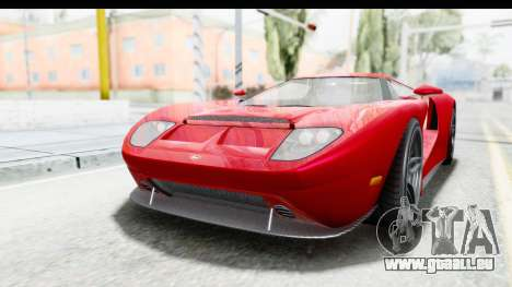 GTA 5 Vapid Bullet Face FMJ für GTA San Andreas zurück linke Ansicht