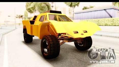 GTA 5 Desert Raid IVF PJ pour GTA San Andreas vue de droite