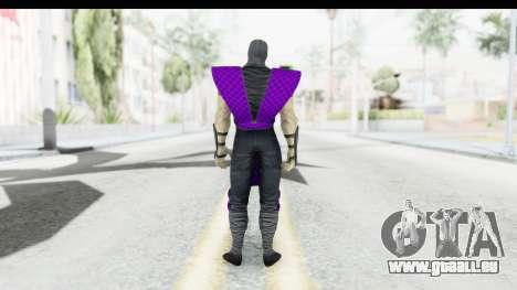 Rain MK2 pour GTA San Andreas troisième écran