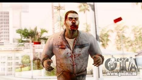 Left 4 Dead 2 - Zombie Worker pour GTA San Andreas