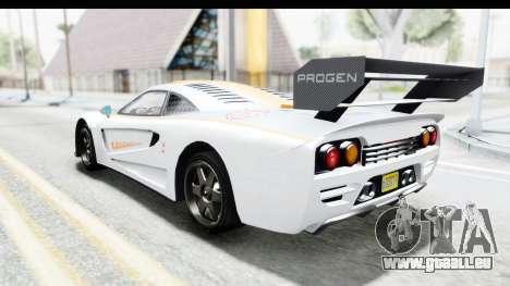 GTA 5 Progen Tyrus für GTA San Andreas Innen