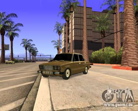 VAZ 2106 Armenian für GTA San Andreas