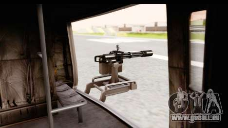 GTA 5 Buckingham Valkyrie pour GTA San Andreas vue intérieure