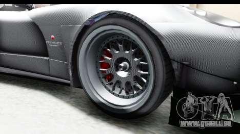 GTA 5 Bravado Banshee 900R Carbon Mip Map IVF pour GTA San Andreas vue arrière