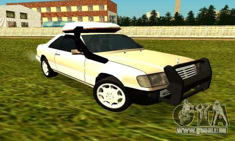 Mercedes Benz 320E pour GTA San Andreas