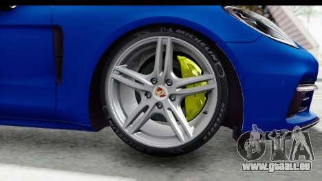 Porsche Panamera 4S 2017 v1 pour GTA San Andreas sur la vue arrière gauche