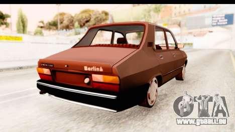 Dacia 1310 LI für GTA San Andreas zurück linke Ansicht