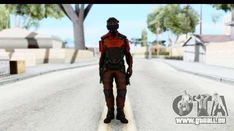 Homefront The Revolution - KPA v3 Red für GTA San Andreas zweiten Screenshot