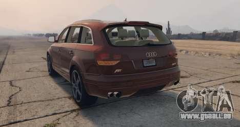 Audi Q7 AS7 ABT 2009 pour GTA 5