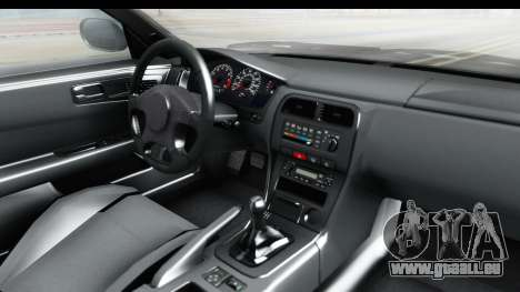 Nissan Silvia S14 Low and Slow pour GTA San Andreas vue intérieure