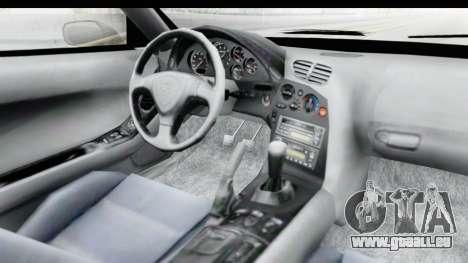 Mazda RX-7 4-doors Fastback für GTA San Andreas Innenansicht