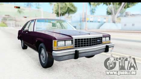Ford LTD Crown Victoria 1987 pour GTA San Andreas