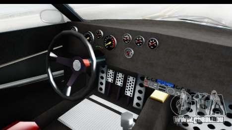 GTA 5 Lampadati Tropos Rallye pour GTA San Andreas vue intérieure