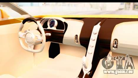 Bugatti Chiron 2017 v2.0 Updated für GTA San Andreas Innenansicht