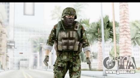 Global Warfare Balkan pour GTA San Andreas