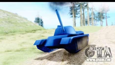 Tank M60 from Army Men: Serges Heroes 2 DC für GTA San Andreas rechten Ansicht