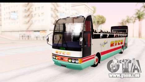 Bus Tours Dic Megadic 4x2 ETCE pour GTA San Andreas