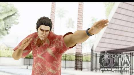 Yakuza 5 Kazuma Kiryu Okinawa pour GTA San Andreas