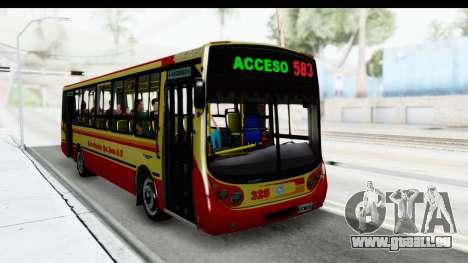 Metalpar Tronador 2 Puertas Linea 324 für GTA San Andreas rechten Ansicht