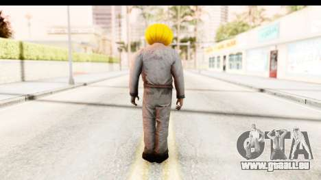 Left 4 Dead 2 - Zombie Pumpkin pour GTA San Andreas troisième écran