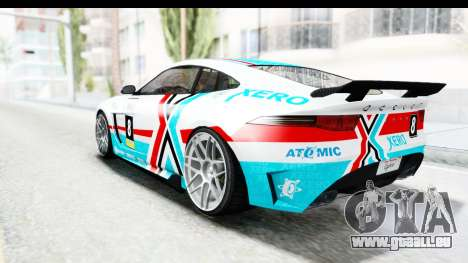 GTA 5 Ocelot Lynx IVF PJ für GTA San Andreas Räder