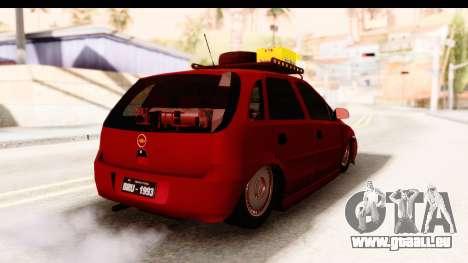 Opel Corsa für GTA San Andreas zurück linke Ansicht