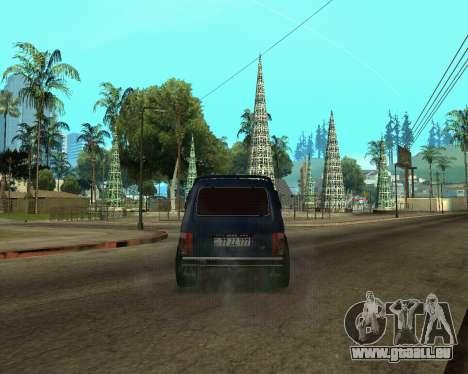 Niva 2121 Armenian für GTA San Andreas Unteransicht