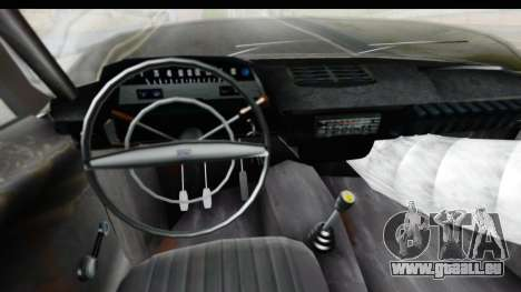 IZH Kombi v1 pour GTA San Andreas vue intérieure